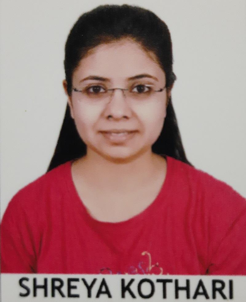 DR. SHREYA KOTHARI