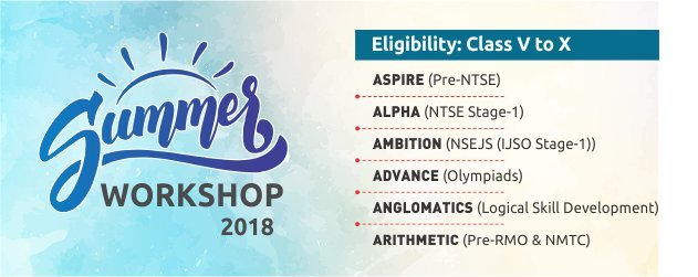Summer-Workshop-2018