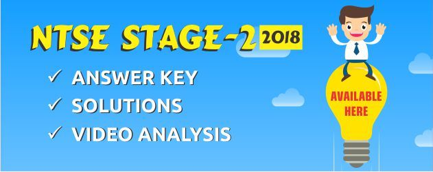 NTSE-Stage-2-2018 Answer Key
