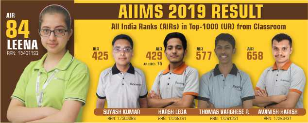 AIIMS 2019 Result Top AIR