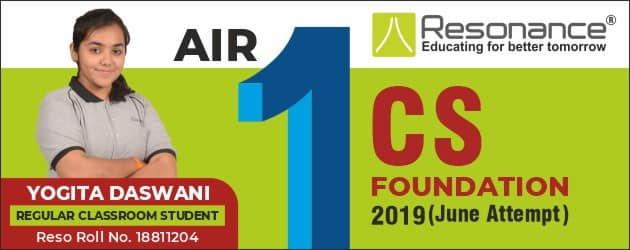 CS Foundation 2019 Result