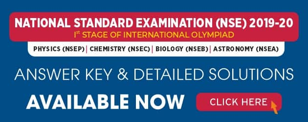 NSE 2019 Answer Key & Solutions