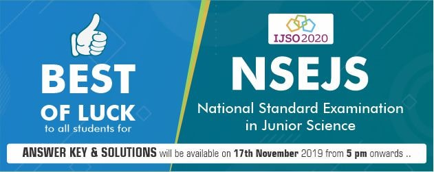 NSEJS 2019 Answer Key & Solutions