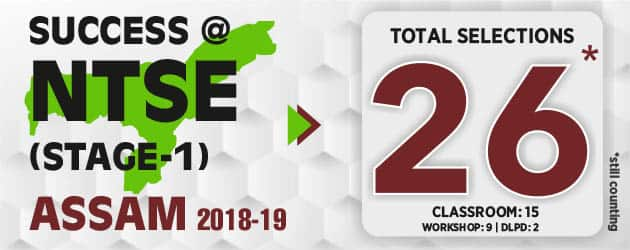 NTSE-Stage-1-2018-Assam-Result