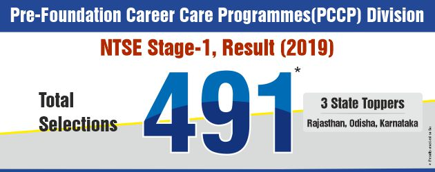 NTSE Stage-1 2018-19 Total Count