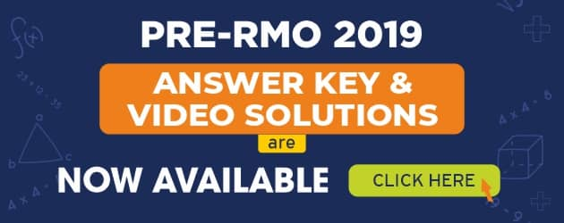 PRE-RMO 2019 Answer Key & Solutions are available