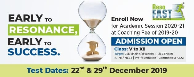 ResoFAST : Admission Announcement for Session 2020-21
