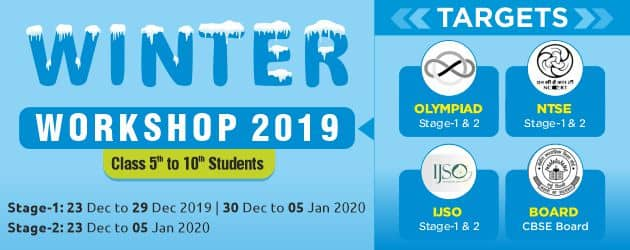 Winter Workshop for Class 5 to 10