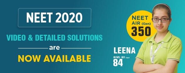 NEET 2020 Answer Key & Solutions