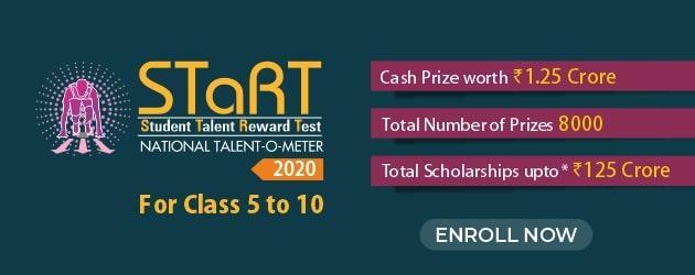 ResoSTaRT 2020 : National Level Talent Search & Reward Exam
