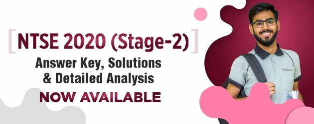 NTSE Stage-2 2020 AnswerKey & Solution