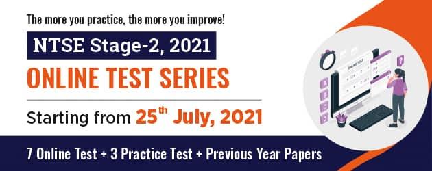 NTSE Stage-2 2021-22 Online Test Series