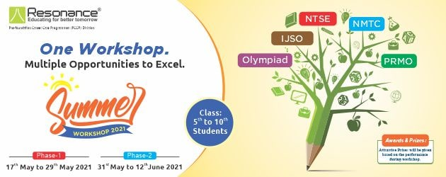 Summer Workshop 2021 for Class 5th to 10th