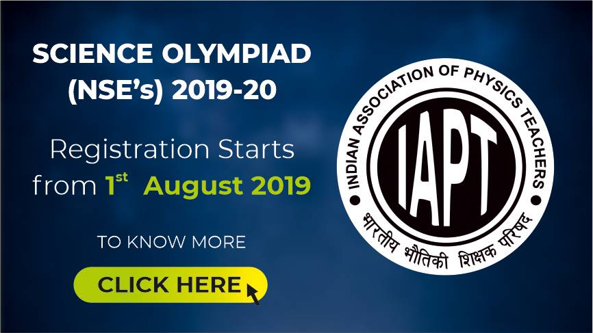 Science Olympiad 2019-20 Registration begins from 1st August 2019