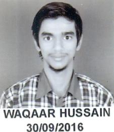 WAQAAR HUSSAIN