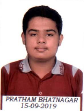 PRATHAM BHATNAGAR