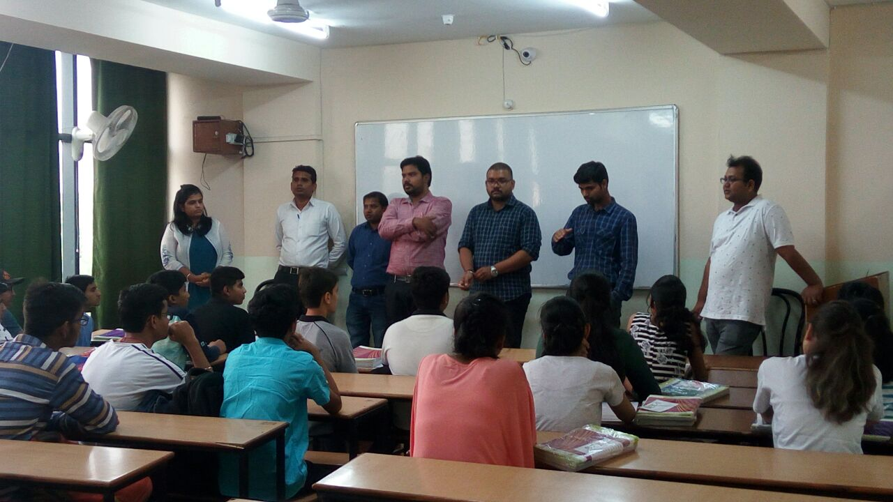 CONDUCTION OF GRAND ORIENTATION OF VIKAAS (JA) BATCH AT BHOPAL CENTRE