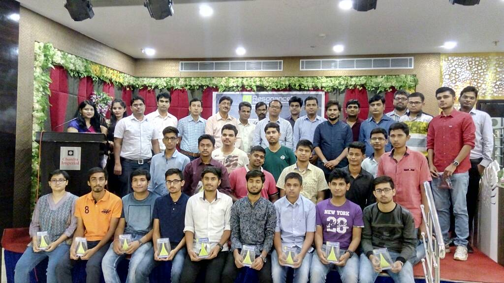Felicitation of Selected Students in JEE(Adv) 2017