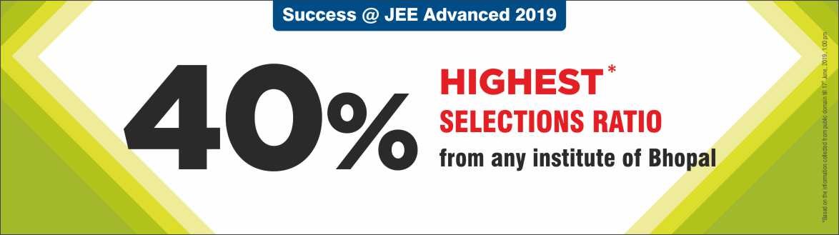JEE Advanced 2019 - Resonance Bhopal Produced Excellent Result