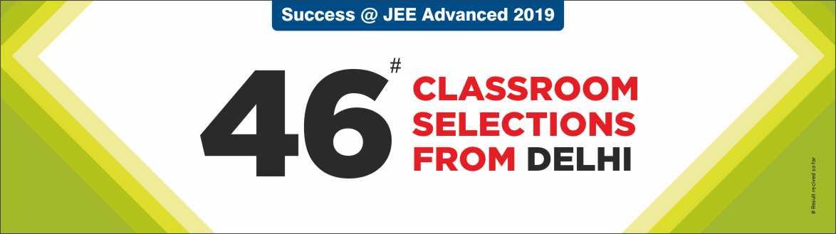 JEE Advanced 2019 - Resonance Delhi Produced Excellent Result