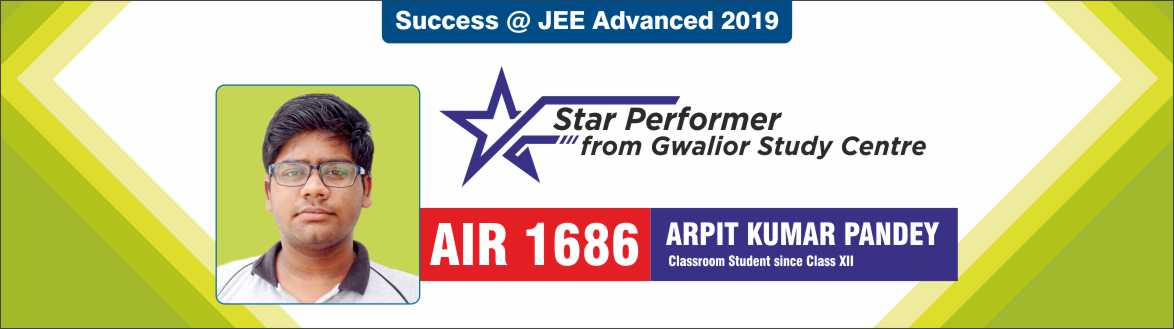 JEE Advanced 2019 - Resonance Gwalior Produced Excellent Result