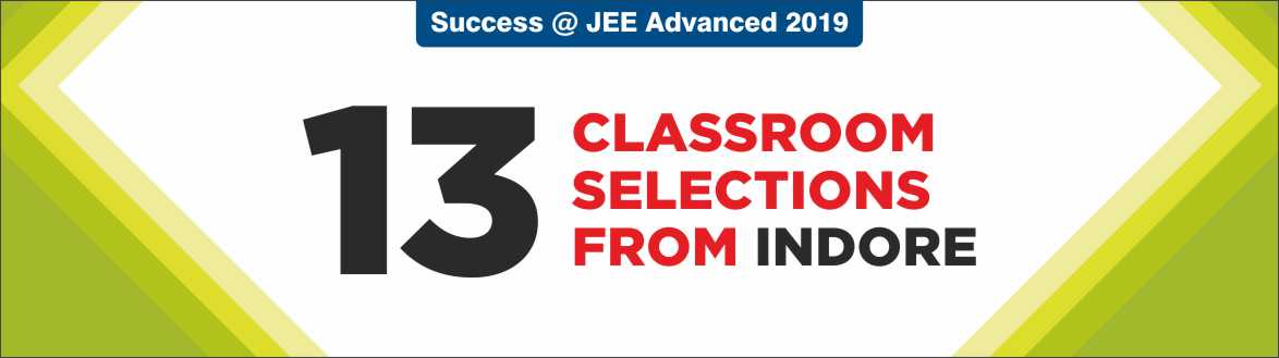 JEE Advanced 2019 - Resonance Indore Produced Excellent Result
