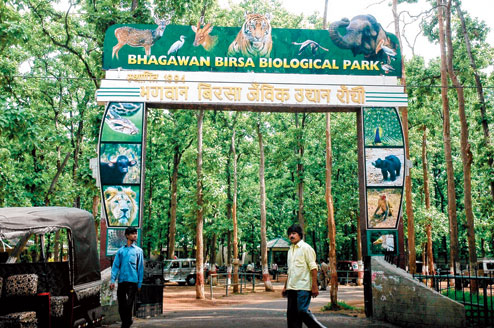 Medical students at Zoological Park, Ranchi