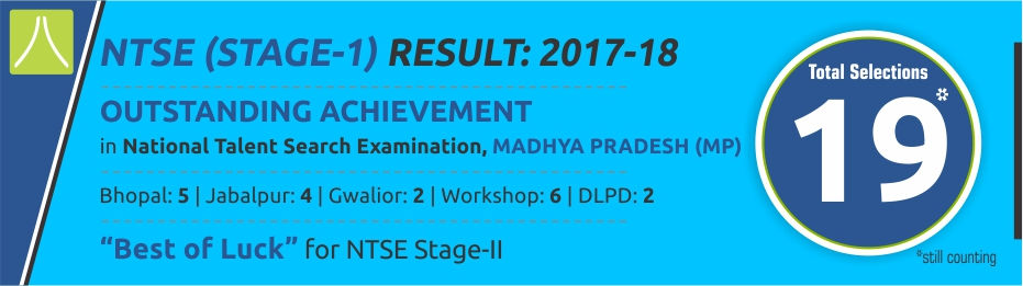 MP NTSE Stage-1 Result