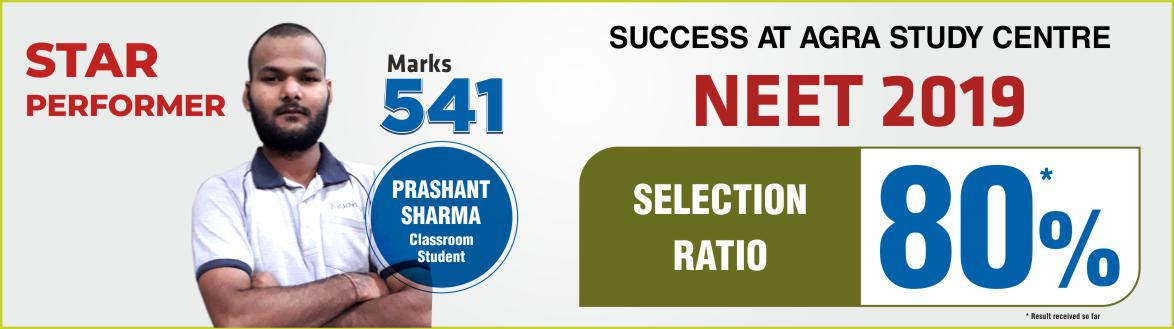 NEET 2019 Result- Students of Resonance Agra performed brilliantly