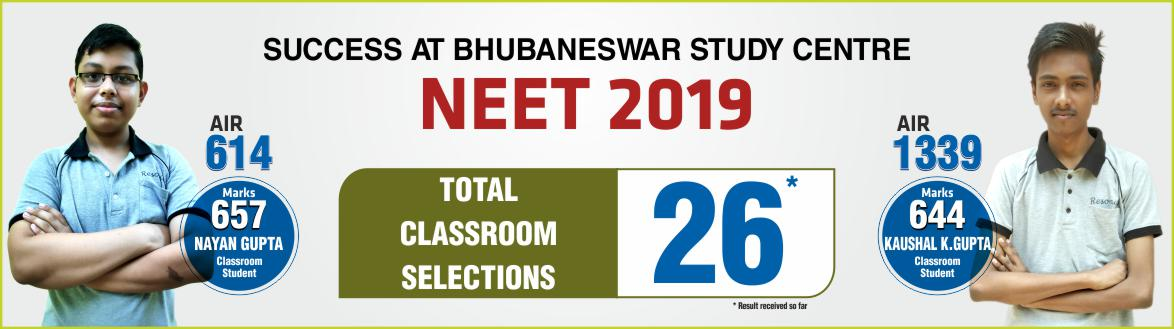 NEET 2019 Result- Students of Resonance Bhubaneswar performed brilliantly