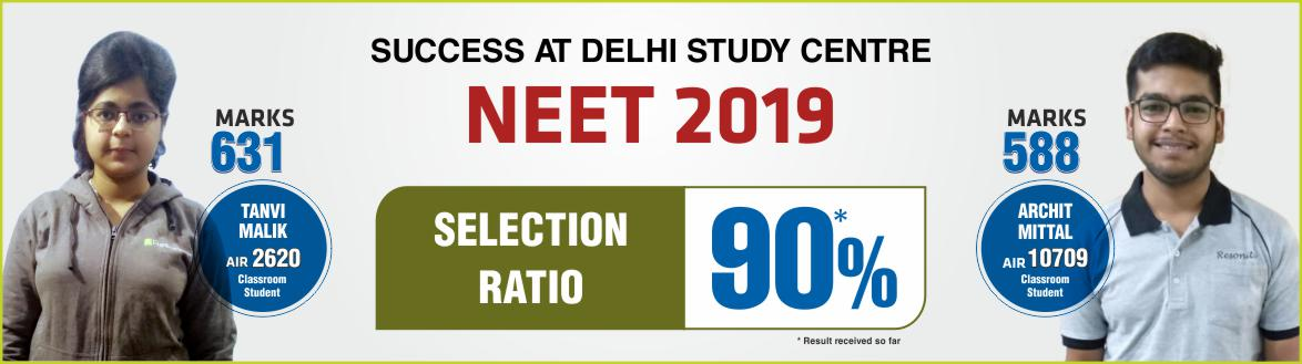 NEET 2019 Result- Students of Resonance Delhi performed brilliantly