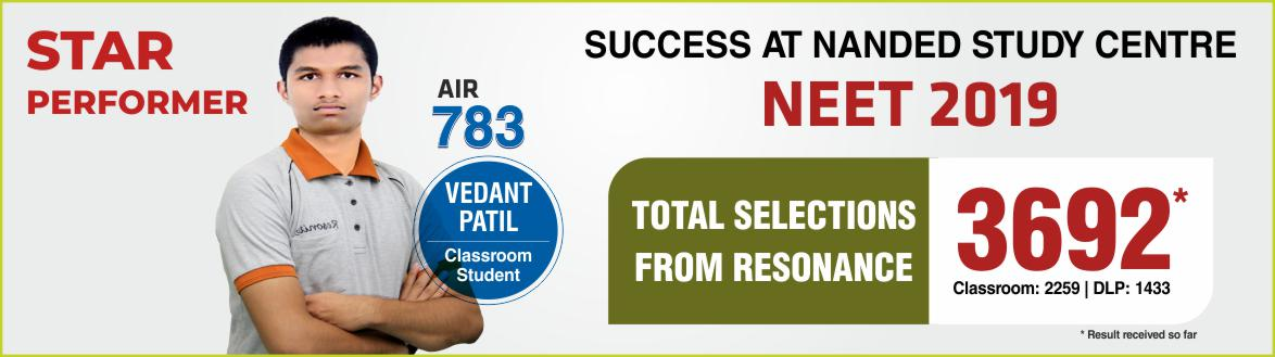 NEET 2019 Result- Students of Resonance Nanded performed brilliantly