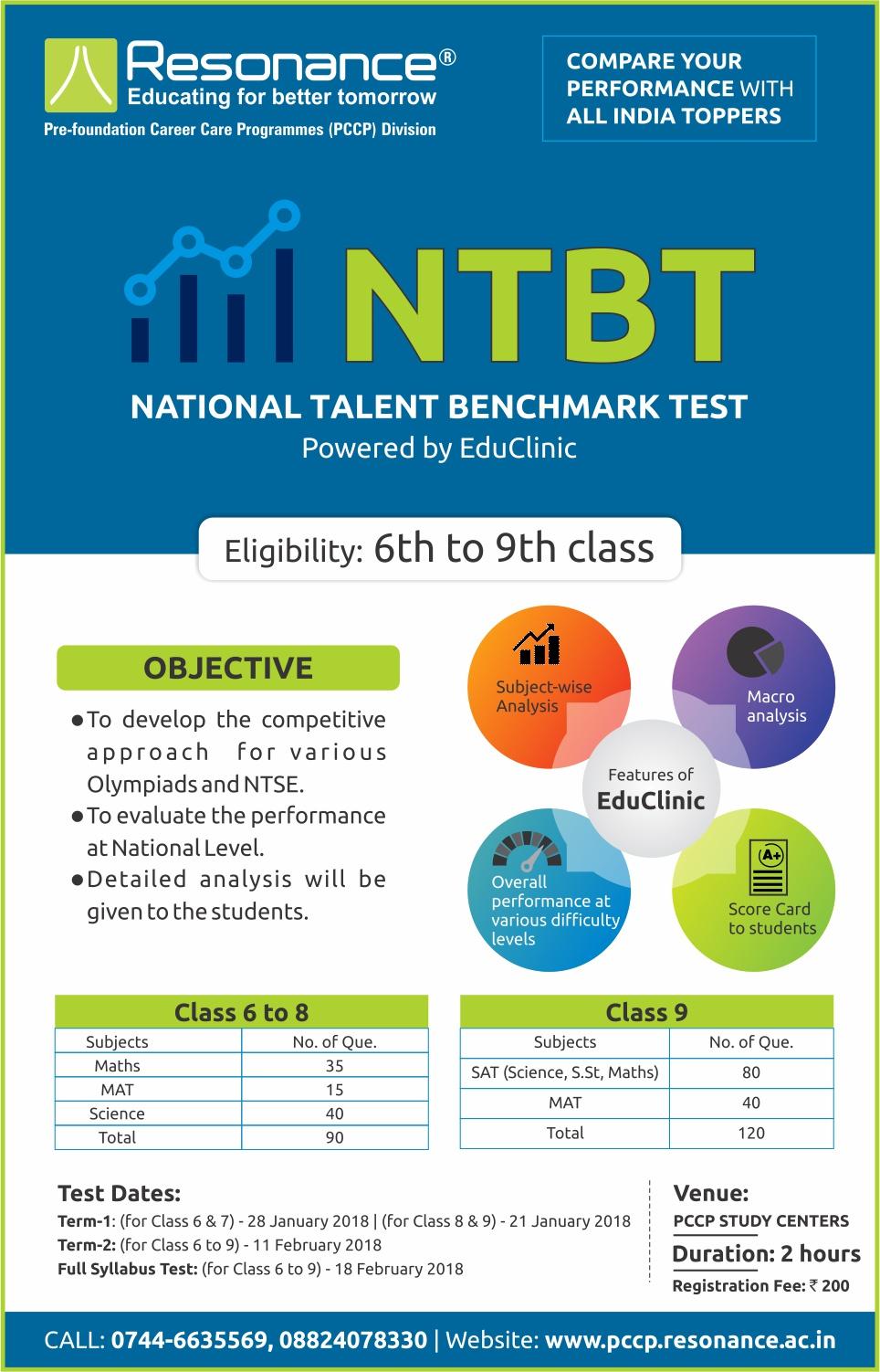 NTBT - National Talent Benchmarking Test